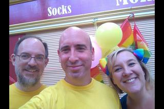 Lib Dems at Stockport Pride 2017