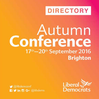 Lib Dem Conference Directory September 2016
