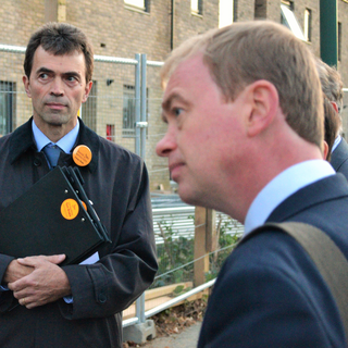 Tim Farron and Tom Brake