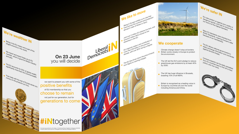 In Together Leaflet PreView - Broxtowe