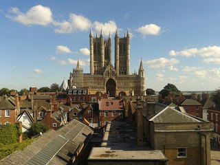 Long short of Lincoln Cathedral (Stephen Hall)