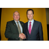 Alistair Stevens - with Nick Clegg Leader of the Liberal Democrats