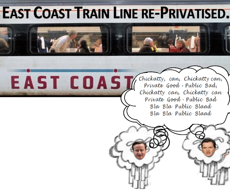 East Coast Train line Re-Privatised 2