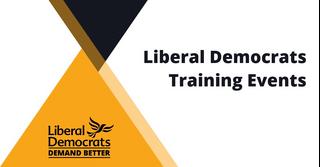 Lib Dem Training Events banner