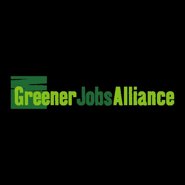 The Greener Jobs Alliance logo (http://www.greenerjobsalliance.co.uk)