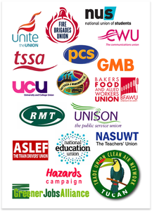 TUCAN supporter logos (Greener Jobs Alliance)