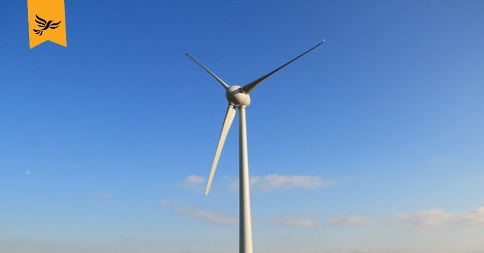 Wind Turbine and Logo