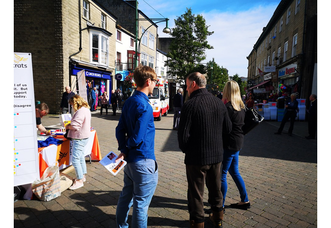 Campaigning in Buxton 2