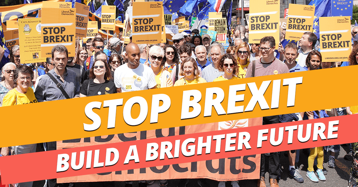 Stop Brexit. Build a Brighter Future